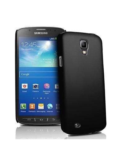 Microsonic Rubber Kılıf Galaxy S4 Active İ9295 Siyah Renkli
